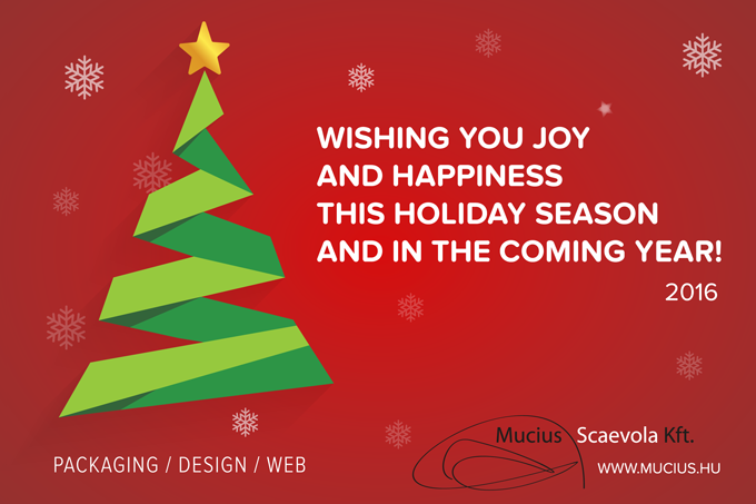 [Wishing You Joy and Happiness this Holiday Season and in the Coming Year! - Mucius Scaevola Ltd.]